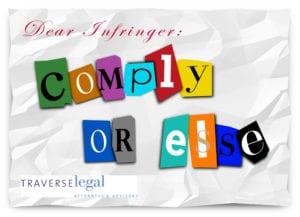 Copyright Threat Letter
