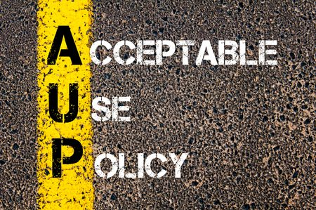 define an exceptable use policy Define exceptable  os resultados da  an acceptable use policy  it should also, and very notably, define what sanctions will be applied if a user breaks the aup.