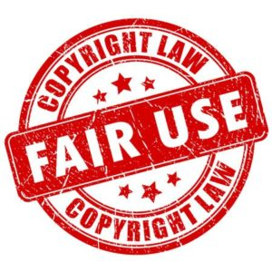 Fair use copyright attorney lawyer