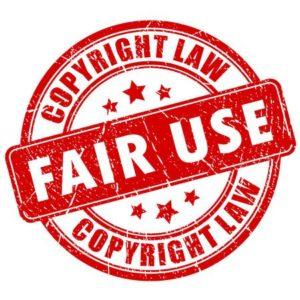 Fair use copyright