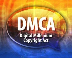 dmca, cease and desist copyright infringement