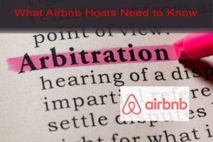airbnb host arbitration