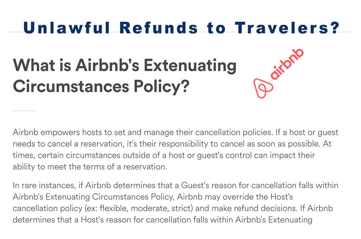 airbnb host refund policy